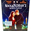 NICK & NORAH'S INFINITE PLAYLIST - DVD - MICHAEL CERA - NEW - COMEDY - MOVIE