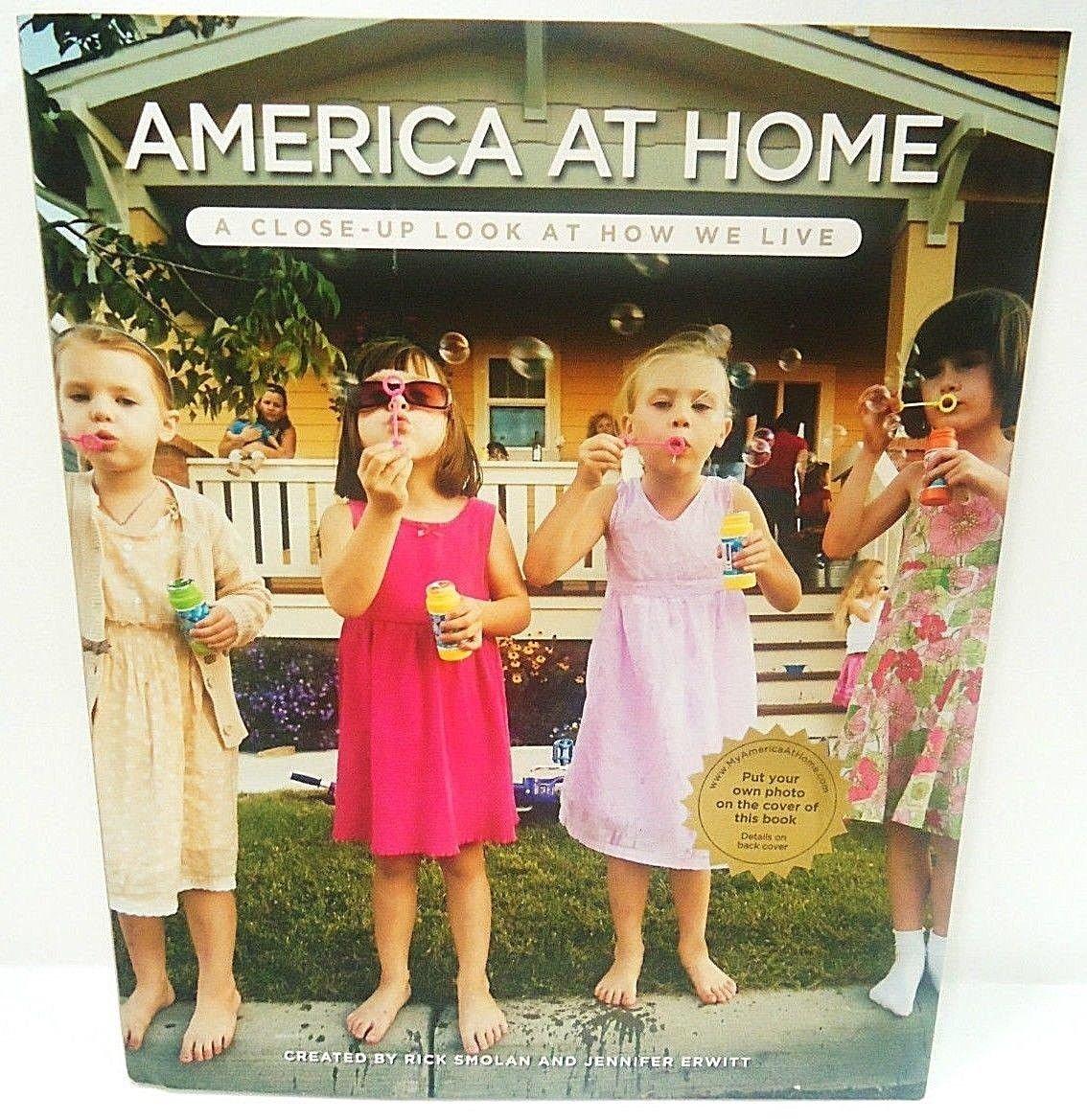 AMERICA AT HOME - PHOTOGRAPHY - BOOK + FREE - BONUS - BOOK - LIGHT - BRAND NEW