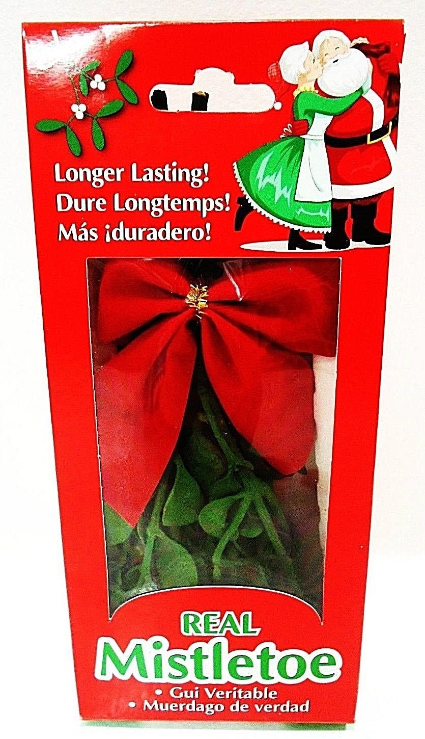 HOME ELEMENTS - REAL - MISTLETOE - CHRISTMAS - HOLIDAY - PLANT - BRAND NEW