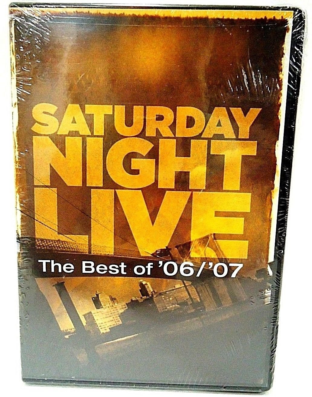 SATURDAY NIGHT LIVE - THE BEST OF '06/'07 - DVD - SETH MEYERS - NEW - COMEDY