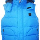 LACOSTE - OUTDOOR - SNOW - SKI - WATER REPELLENT - MEDIUM - BLUE - VEST - NEW