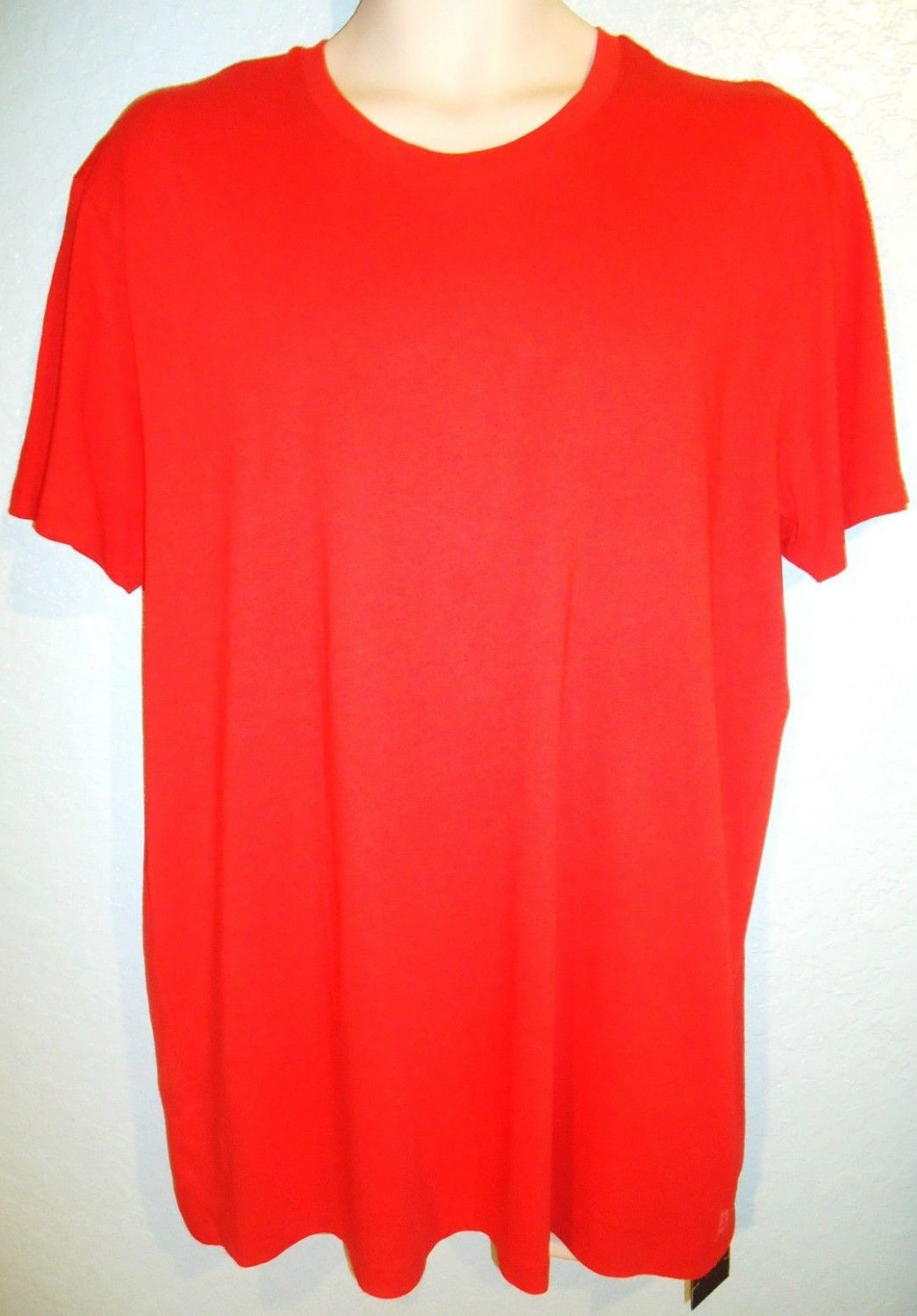 ARMANI EXCHANGE - A|X - RED - XL - CREW NECK - MUSCLE - TEE - NEW - T-SHIRT - #1