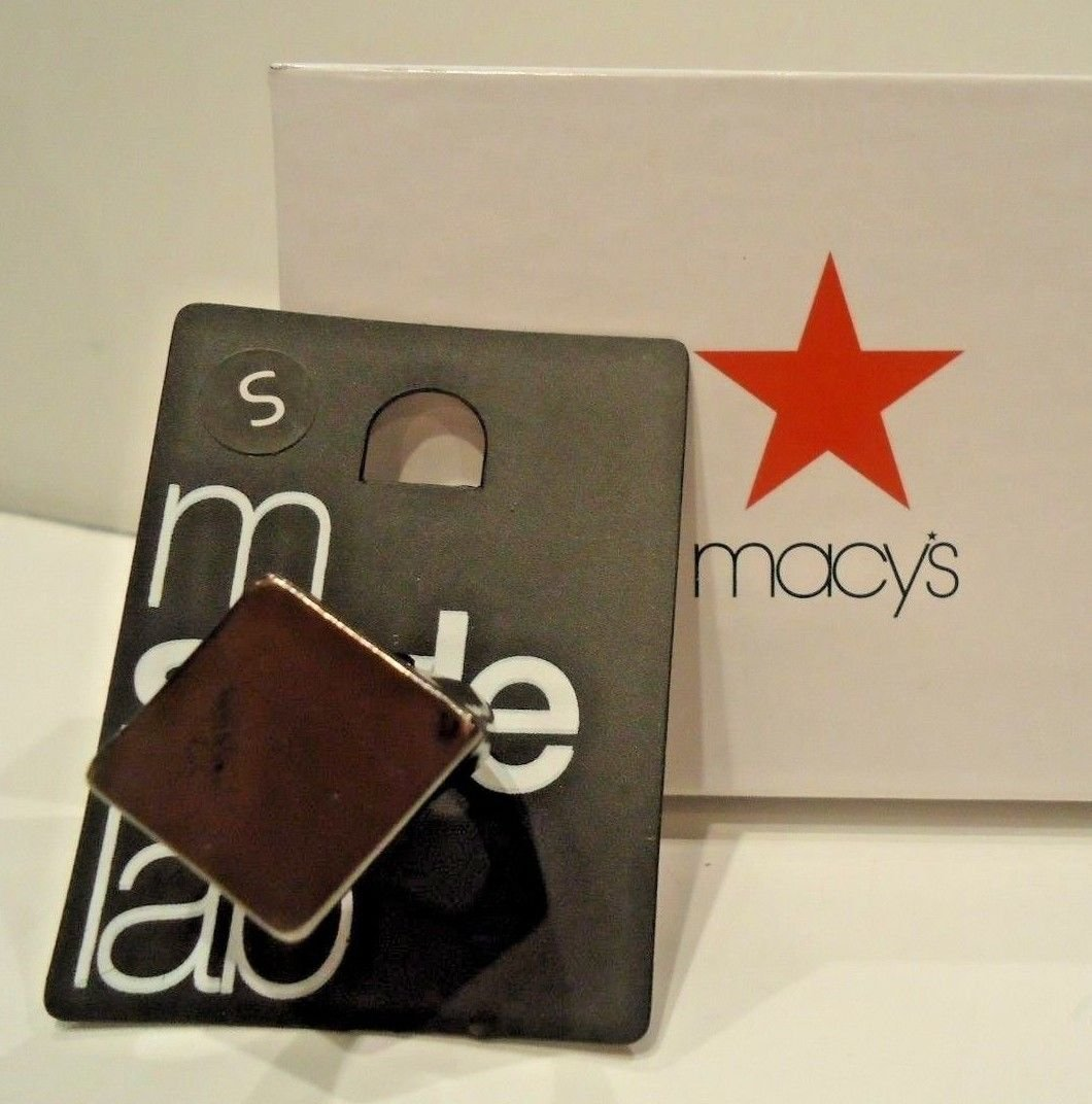 MACY'S - M STYLE LAB - METALLIC - FASHION - RING - BRAND NEW - NWT - SMALL