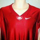 NIKE - UNIVERSITY OF ARKANSAS - RAZORBACKS - JERSEY - XL - NEW - NCAA - FOOTBALL
