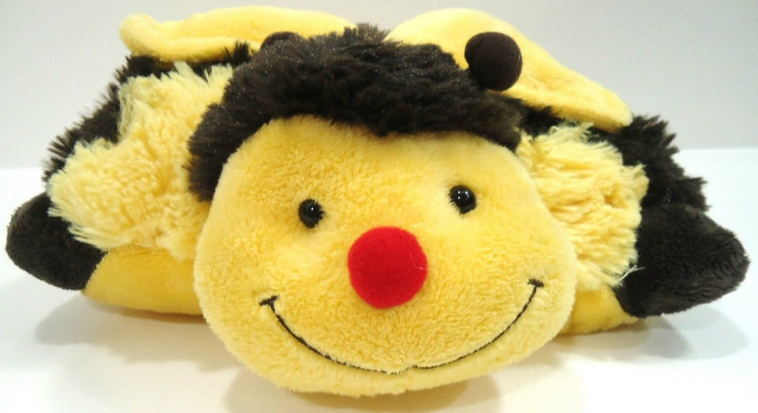 PILLOW PETS - PEE WEES - BUMBLY BEE - STUFFED - PLUSH - ANIMAL - BRAND NEW