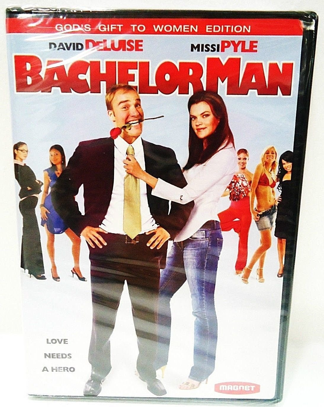 BACHELOR MAN - DVD - DAVID DELUISE - MISSI PYLE - NEW - SEALED - COMEDY - MOVIE