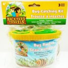 BACKYARD - DISCOVERY - OUTDOOR - YELLOW - BUG - KIT - NET - MAGNIFIER - NEW