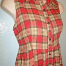 MACY'S - M STYLE LAB - VOGUE - PLAID - BALLET - DRESS - NEW - MEDIUM - OUTFIT