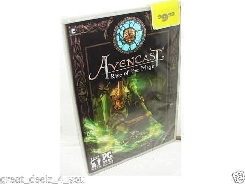 AVENCAST - RISE OF MAGE - PC - GAME - BRAND NEW - COMPUTER - VIDEO - GAME