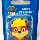 NICKELODEON - PAW PATROL - CARTOON - RUBBLE - MINI - FIGURE - BRAND NEW - SEALED