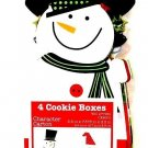 THE COOKIE EXCHANGE - 4 PCS. - CHRISTMAS - COOKIE - CARTON - BOXES - BRAND NEW