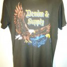 RALPH LAUREN - POLO - D&S - BLACK - EAGLE - MEDIUM - BRAND NEW - T-SHIRT - TEE