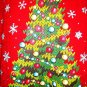 GILDAN - UGLY - CHRISTMAS - TREE - SWEATSHIRT - RED - GREEN - L - NEW - SWEATER