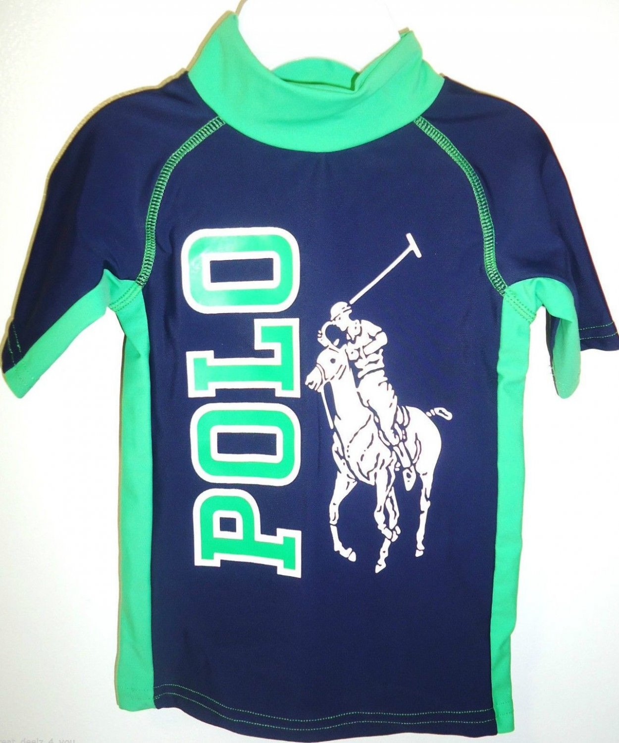 RALPH LAUREN - POLO - BOY'S - BIG PONY - BLUE - SPORT - SHIRT - 18M - BRAND NEW