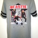 BEASTIE BOYS - SOLID GOLD HITS - GRAY - HIP HOP - RETRO - T-SHIRT - MEDIUM - NEW