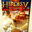 HEROES OF MIGHT & MAGIC V - HAMMERS OF FATE - EXPANSION - PC - VIDEO GAMES - NEW