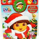 NICKELODEON - DORA THE EXPLORER - CHRISTMAS - SONGS - INTERACTIVE - BOOK - NEW
