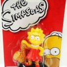 THE SIMPSONS - OFFICIAL - COLLECTIBLE - FIGURINE - NEW - CARTOON - LISA - TOY