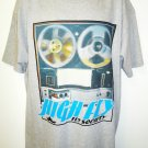 FLY SOCIETY - HIGH FLY - RETRO - GRAY - XL - T-SHIRT - BRAND NEW - HIP HOP - TEE