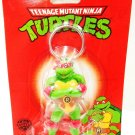 NICKELODEON - TEENAGE MUTANT NINJA TURTLES - RAPHAEL - KEY- CHAIN - FOB - NEW