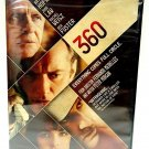 360 - DVD - ANTHONY HOPKINS - JUDE LAW - NEW - ROMANCE - THRILLER - CRIME - FILM