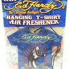 ED HARDY - CHRISTIAN AUDIGIER - HANGING - T-SHIRT - CAR - AIR FRESHENER - NEW