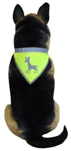 ALCOTT - SAFETY - ESSENTIAL - VISIBILITY - DOG - BANDANA - NEW - SMALL - COLLAR