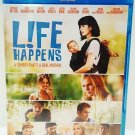 LIFE HAPPENS - BLU-RAY - DVD - KRYSTEN RITTER - NEW - COMEDY - MOTHERHOOD - FILM