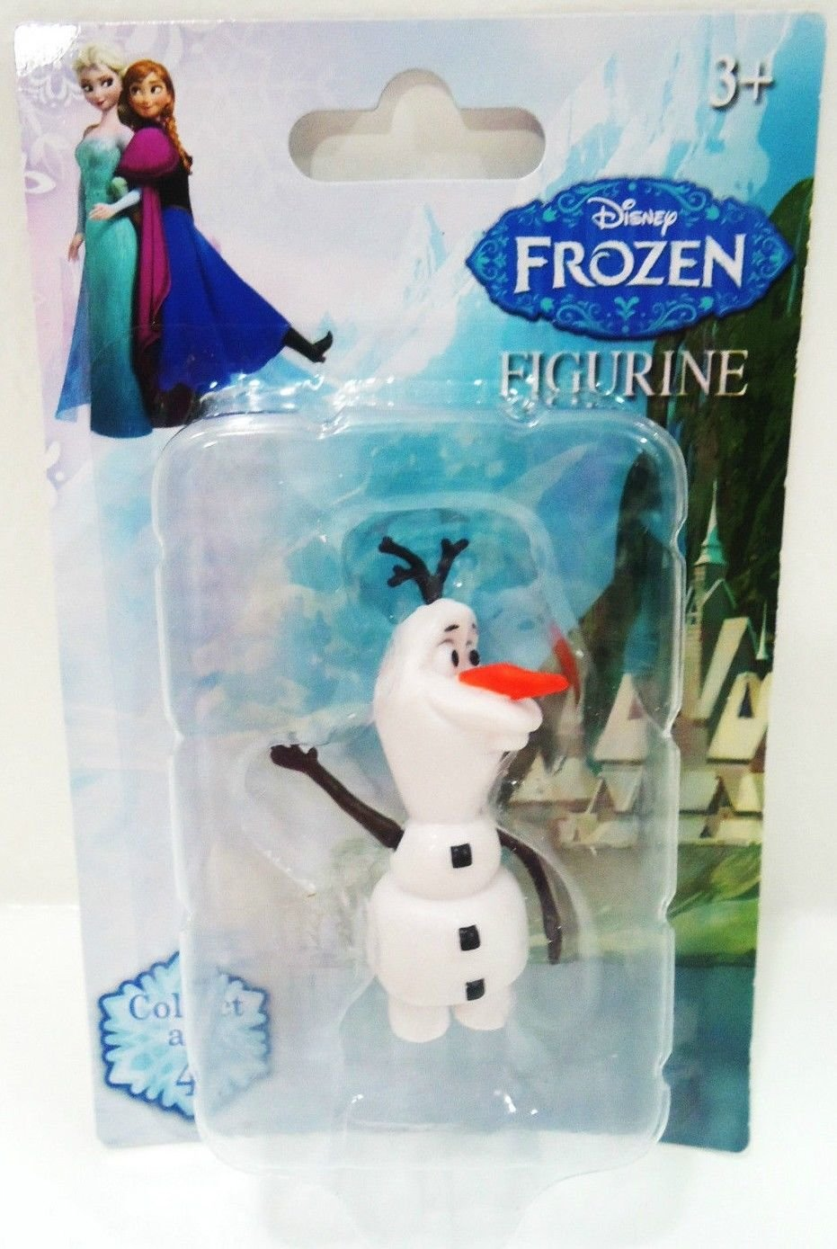 DISNEY - FROZEN - OLAF - MINIATURE - COLLECTIBLE - FIGURINE - BRAND NEW - SEALED