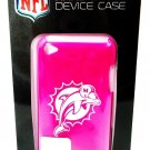 MIAMI - DOLPHINS - NFL - iPOD - TOUCH - 4TH GENERATION - HOT PINK - CASE - NEW