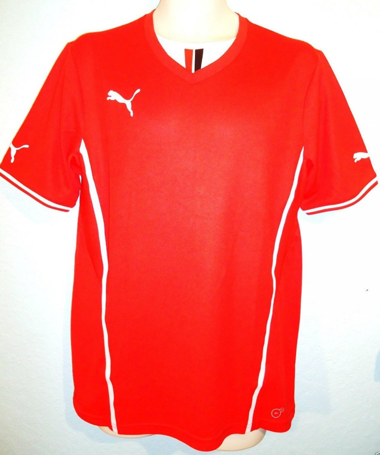 PUMA - DRY - CELL - LARGE - RED - SOCCER - JERSEY - SHIRT - MLS - NEW - SPORT