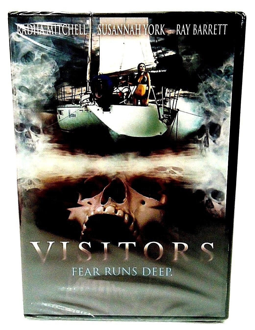 VISITORS - DVD - RADHA MITCHELL - RAY BARRETT - NEW - HORROR - PIRATE - MOVIE
