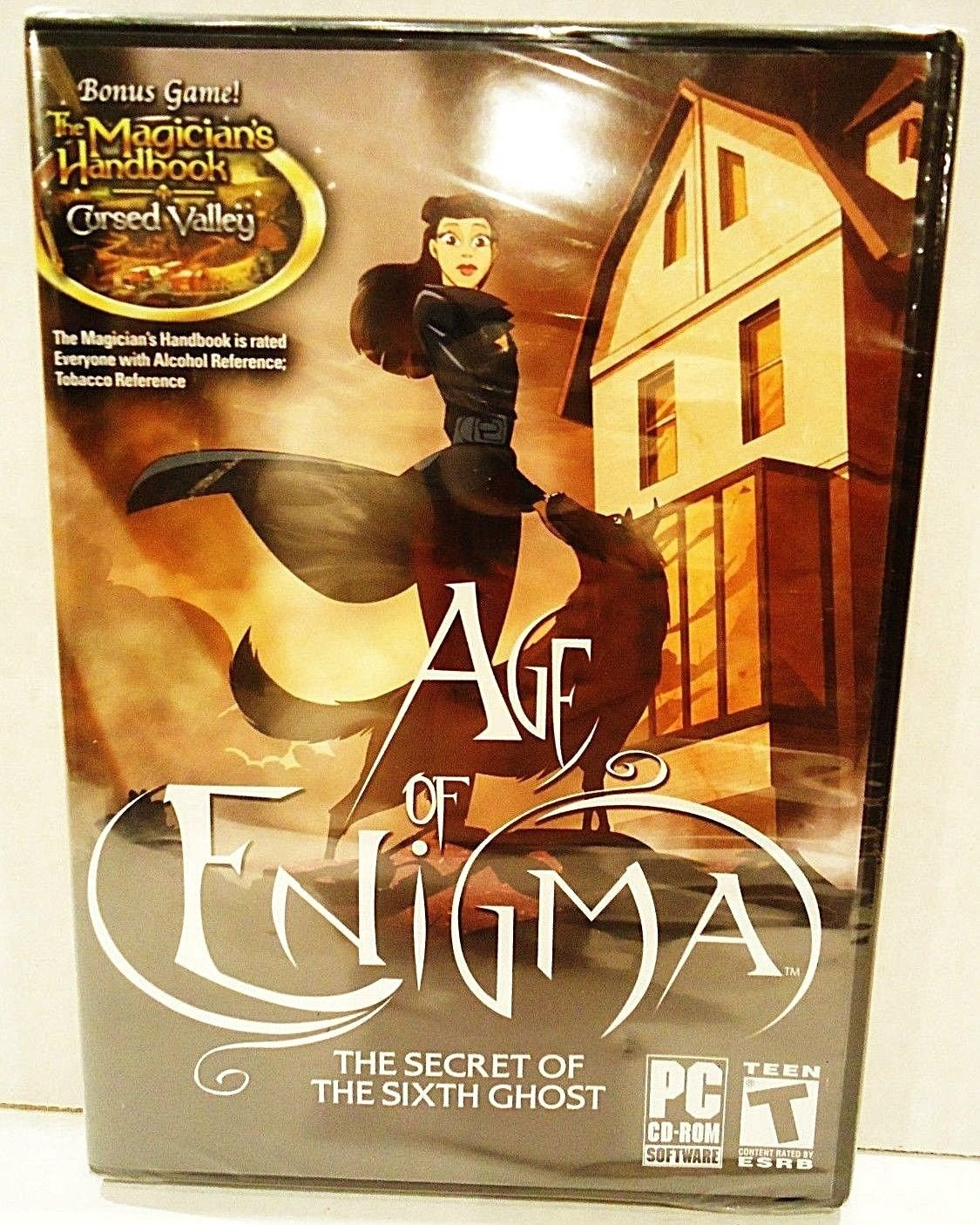 AGE OF ENIGMA - SECRET OF THE SIXTH GHOST - PC - COMPUTER - VIDEO - GAME - NEW