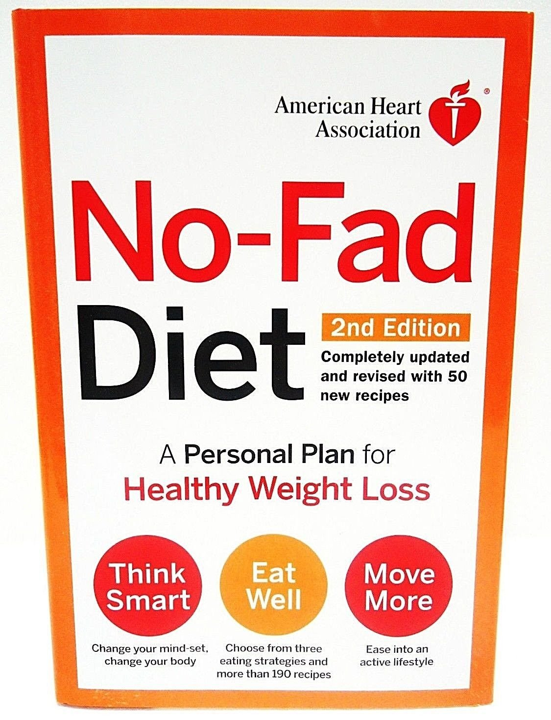 NO-FAD - DIET - 50 - RECIPE - COOK - BOOK - BRAND NEW - DIET - EXERCISE - HEALTH