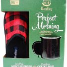 WEMBLEY HERITAGE - PERFECT MORNING - SLIPPERS - COFFEE - MUG - SET - SHOES - NEW