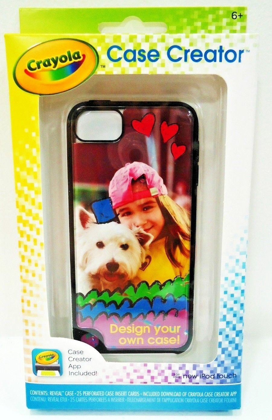 GRIFFIN - CRAYOLA - APPLE - iPOD -TOUCH - CASE - CREATOR - APP - BRAND NEW