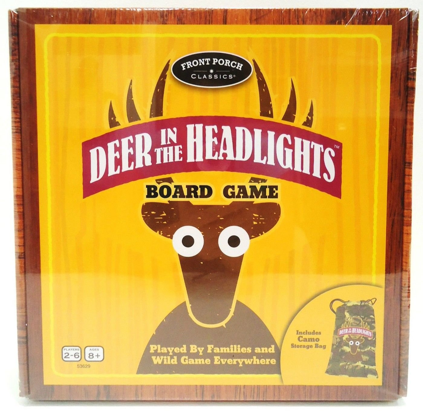 FRONT PORCH CLASSICS - DEER IN HEADLIGHTS - BOARD - GAME - BRAND NEW - SEALED