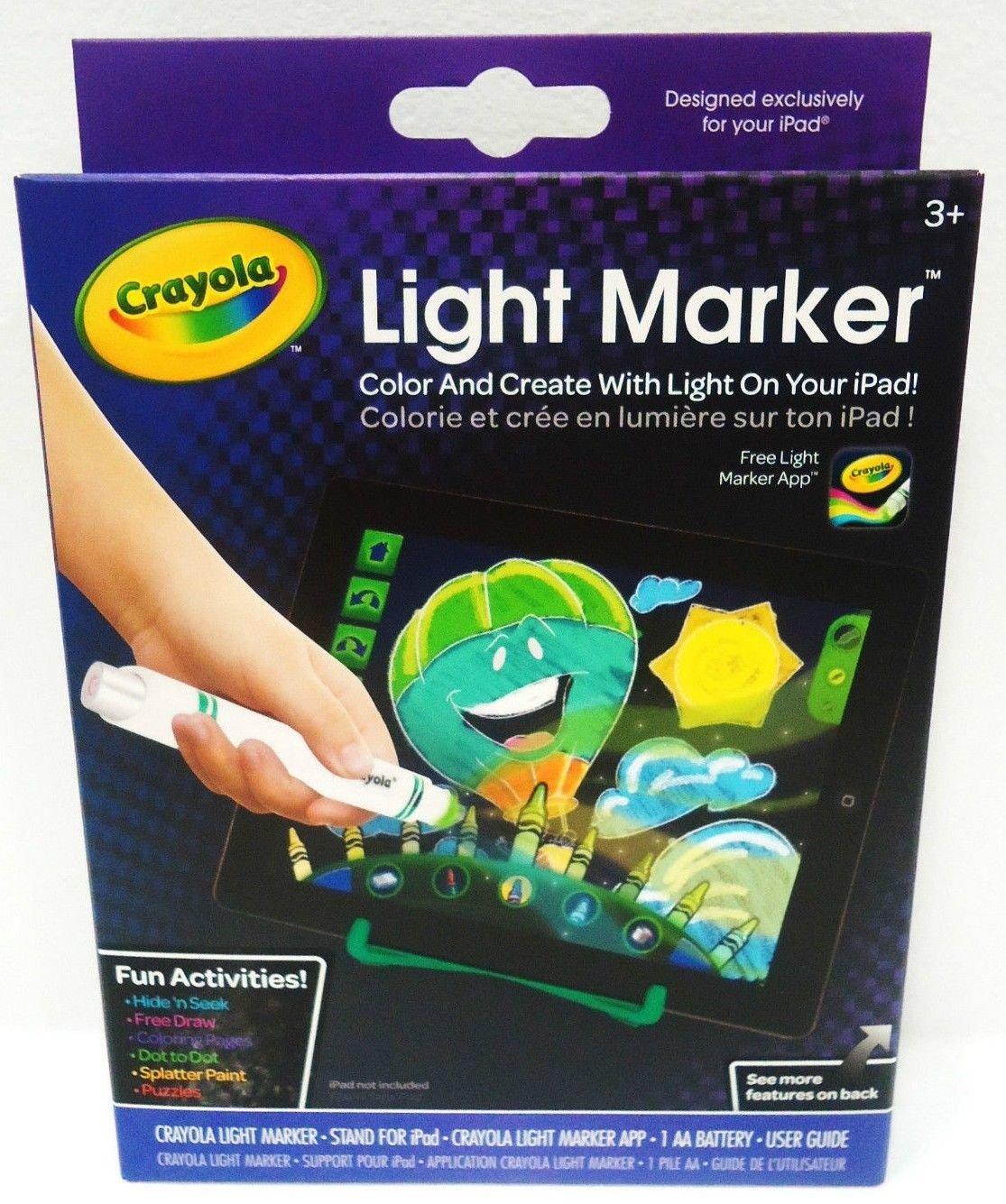 GRIFFIN - CRAYOLA - iPAD - LIGHT - MARKER - ART - EFFECTS - APP - BRAND NEW