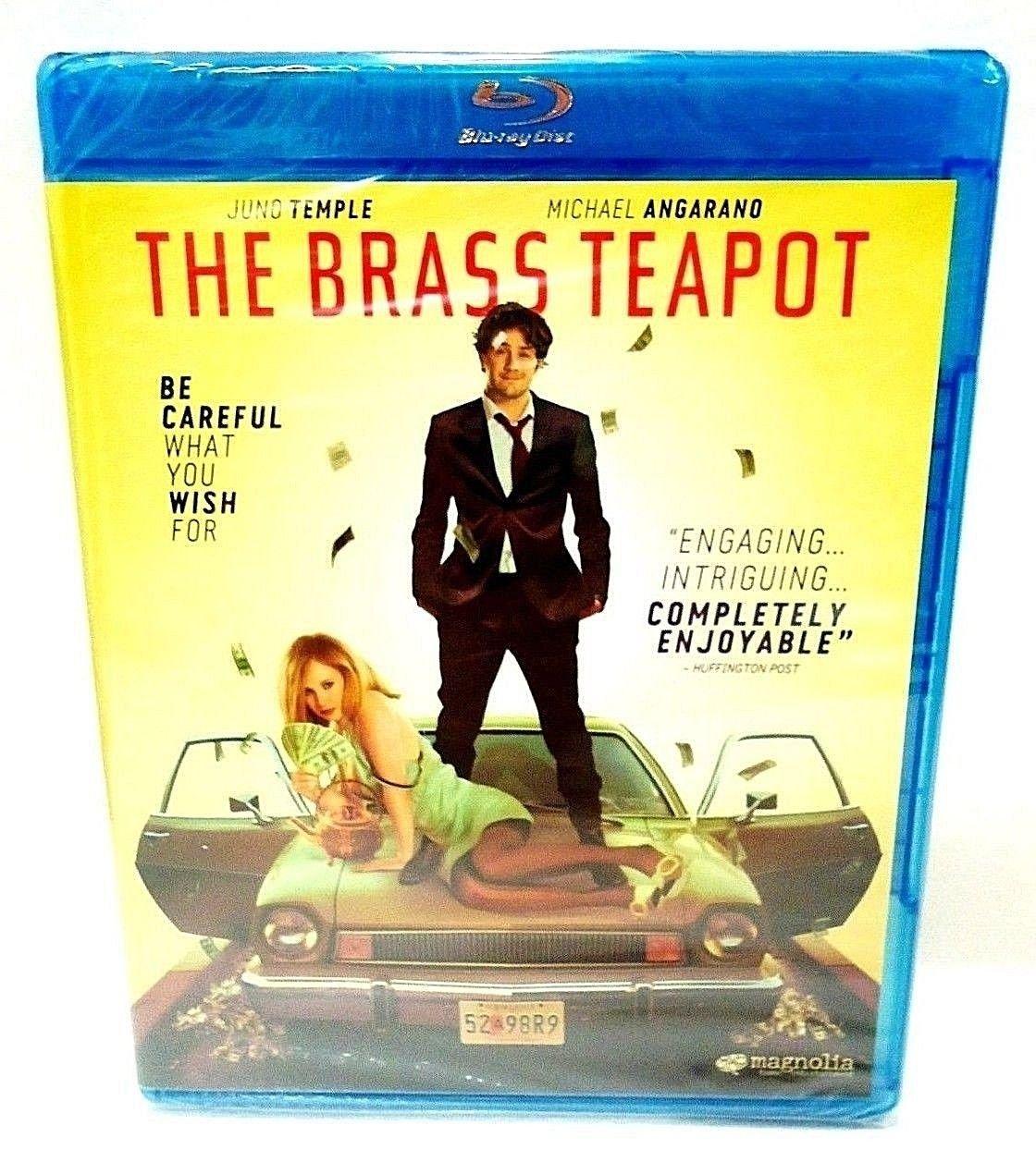 THE BRASS TEAPOT - BLU-RAY - DVD - JUNO TEMPLE - BRAND NEW - COMEDY - MOVIE