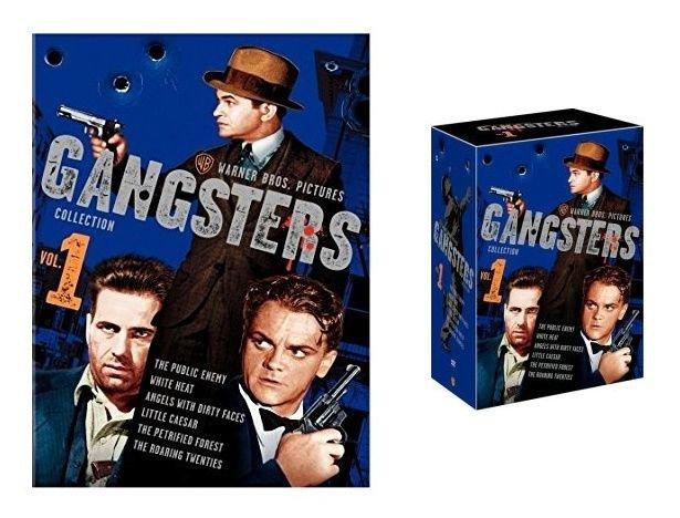 WARNER BROS. - GANGSTERS - COLLECTION - VOLUME 1 - DVD - 6 DISC SET - BRAND NEW