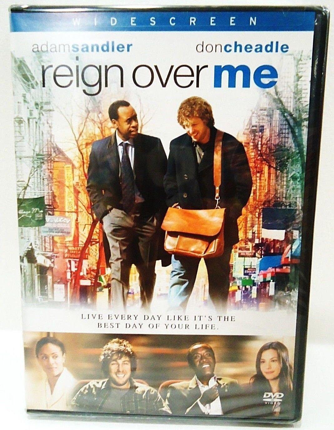 REIGN OVER ME - DVD - ADAM SANDLER - DON CHEADLE - NEW - COMEDY - DRAMA - MOVIE