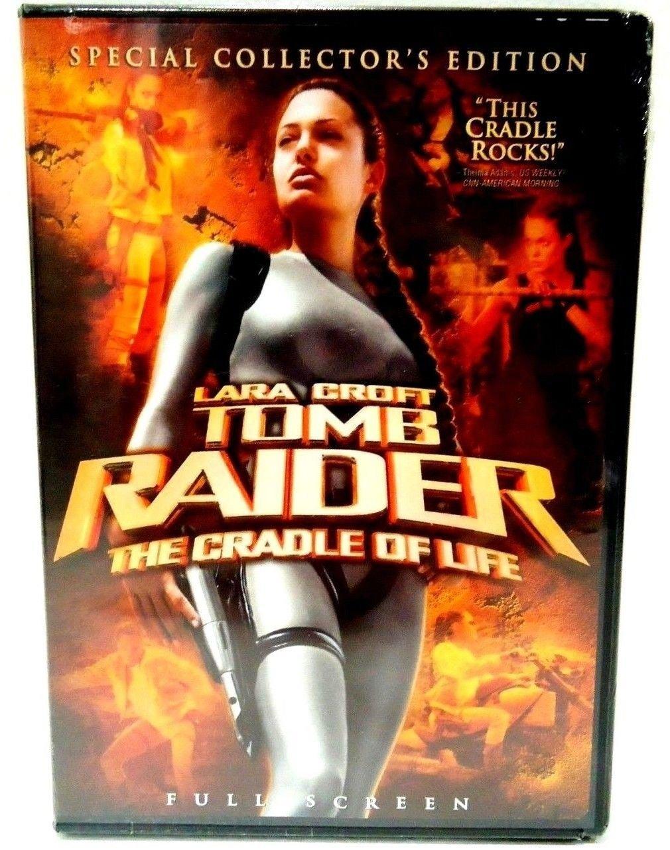 LARA CROFT - TOMB RAIDER: THE CRADLE OF LIFE - DVD - ANGELINA JOLIE - BRAND NEW