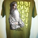 DUCK DYNASTY - HAPPY - ARMY - GREEN - T-SHIRT - TEE - BRAND NEW - 2XL - A&E