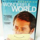 WONDERFUL WORLD - DVD - MATTHEW BRODEERICK - BRAND NEW - SEALED - COMEDY - FILM
