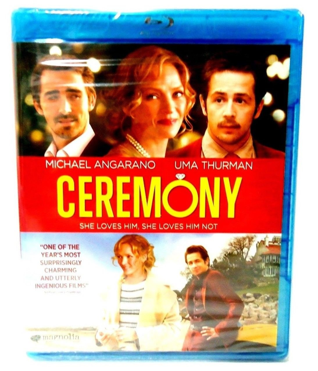 CEREMONY - BLU-RAY - DVD - UMA THURMAN - MICHAEL ANGARANO - NEW - COMEDY - MOVIE