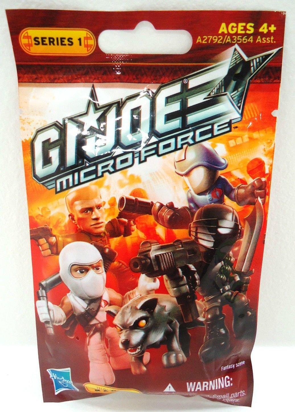 G.I. JOE - MICRO FORCE - SERIES 1 - BRAND NEW - SEALED - ACTION - FIGURE - COMIC