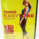 REEBOK - EASY TONE - DVD - AUDIO - GYM - WORKOUT - NEW - FITNESS - EXERCISE