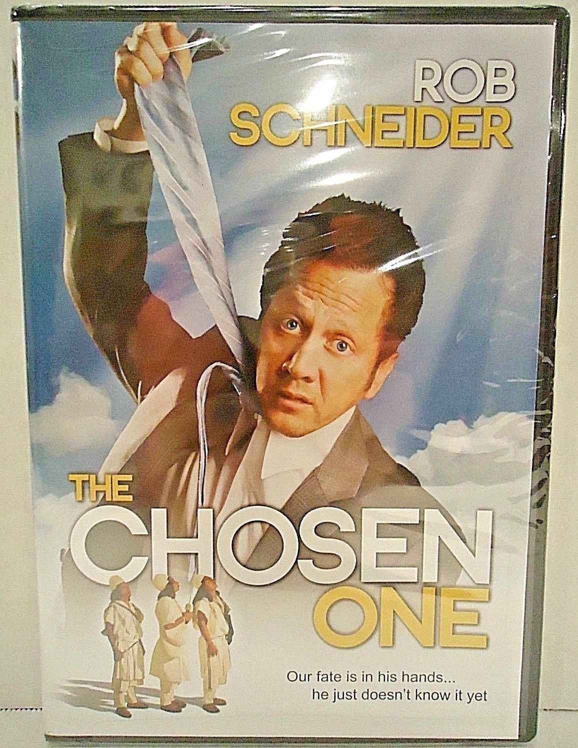 THE CHOSEN ONE - DVD - ROB SCHNEIDER - BRAND NEW - SEALED - COMEDY - MOVIE