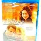 TO THE WONDER - BLU-RAY - BEN AFFLECK - OLGA KURYLENKO - NEW - ROMANCE - MOVIE