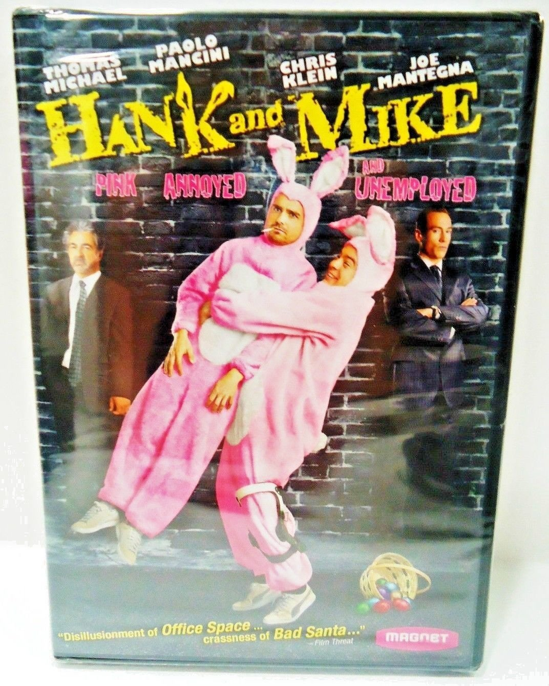 HANK & MIKE - DVD - JOE MANTEGNA - CHRIS KLEIN - NEW - SEALED - COMEDY - MOVIE